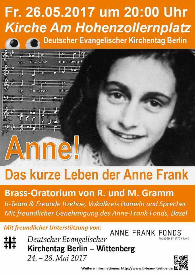 ANNE! auf dem Kirchentag in Berlin